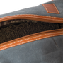 Waxed Canvas Shoe Bag