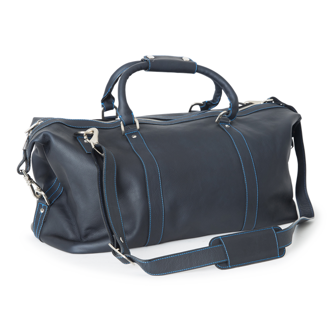 Medium Leather Duffel Bag