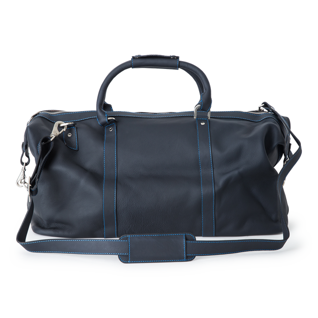 Large Leather Duffel Bag
