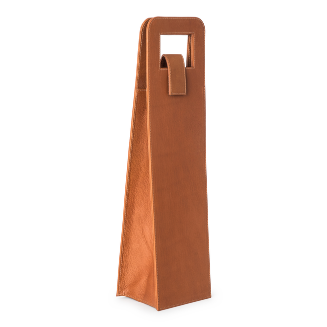 Leather Wine Single Carrier